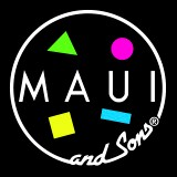 Maui And Sons - Rip Curl - Volcom - Inside Logo